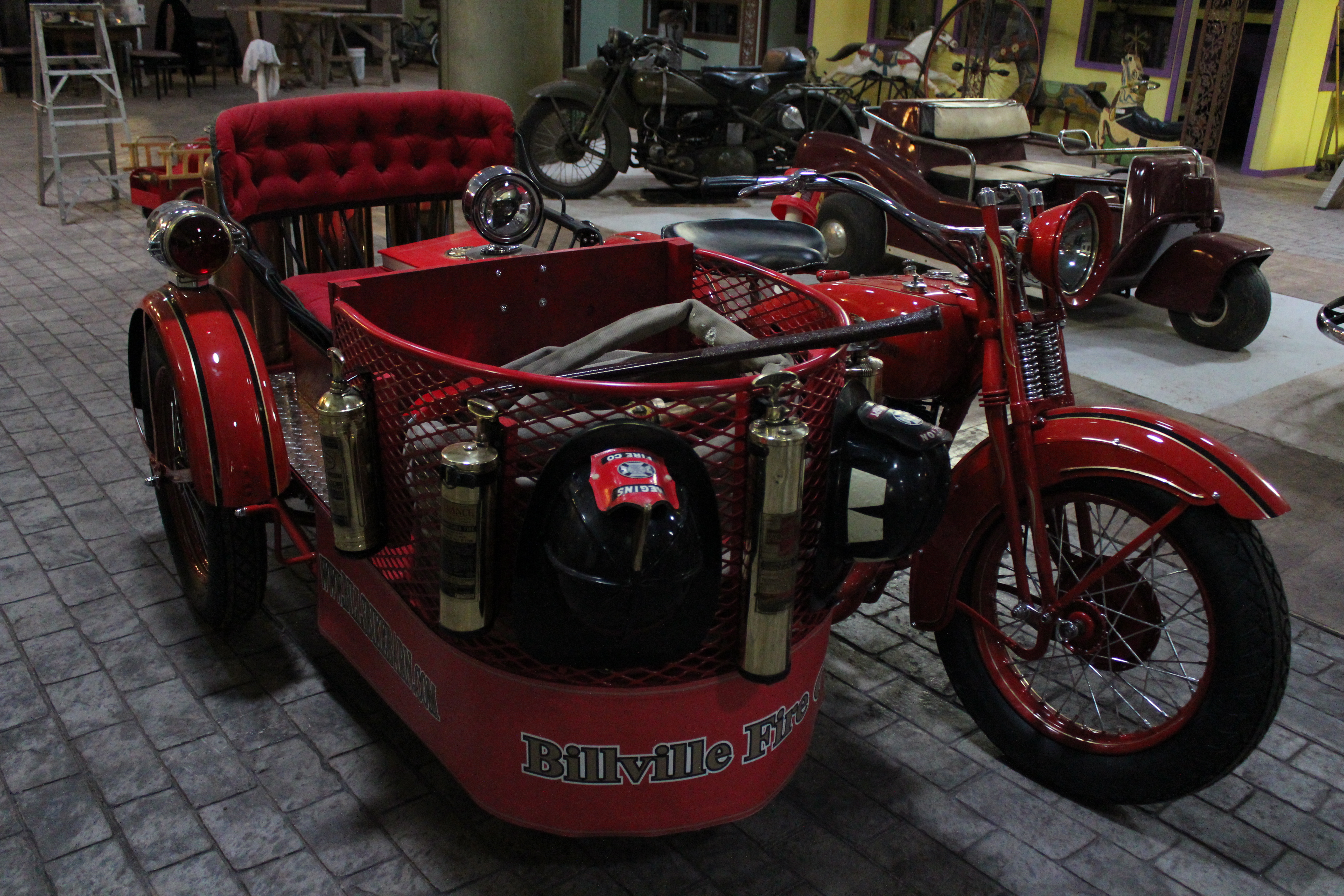 Motorcycle Mania- Bill's Old Bike Barn houses one man's ...