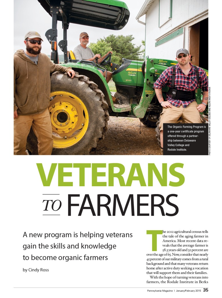 veterans to farmers pa magazine jf 2015