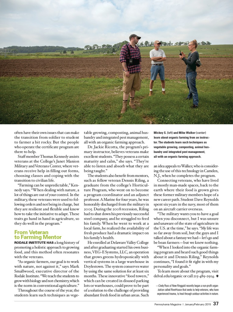 veterans to farmers pa magazine jf 20153
